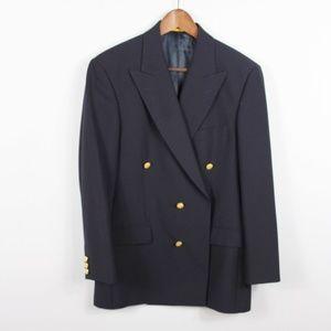 Brooks Brothers Navy Blue Blazer 38R Wool Blend